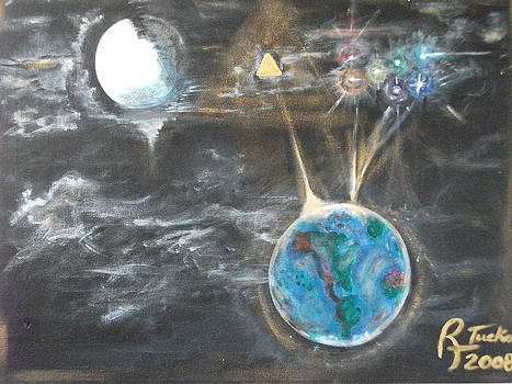 Galactic Center by Rick Tucker