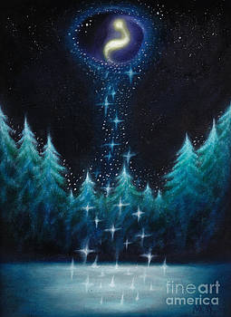 Galactic Forest by Michelle Cavanaugh-Wilson