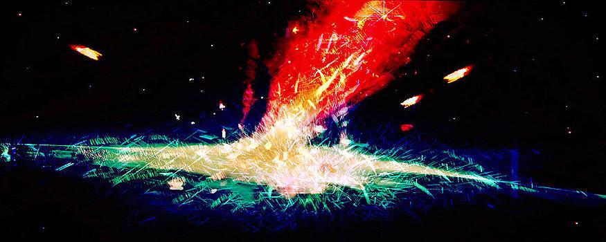 Galaxy Splash by Susan Leggett