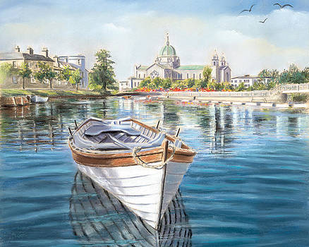 Galway Cathedral View  by Vanda Luddy