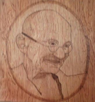 Gandhiji by Ashraf Mohammed Musaliyarkalathil