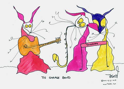 Garage Band by Tis Art