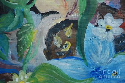 Garden Blues by Aldonia Bailey