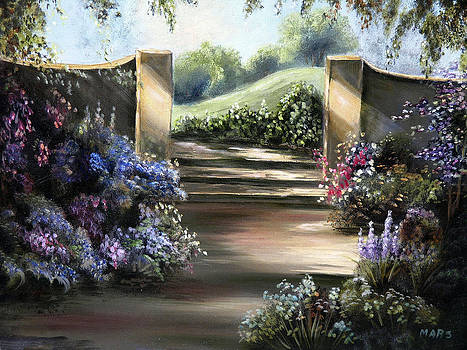 Garden Gate by Peggy Mars