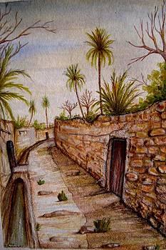 Garden in oasis  by Abbas Djamat