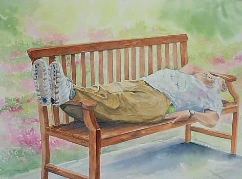 Garden Respite by Celene Terry