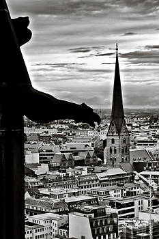 Gargoyle over Hamburg by Edward Myers