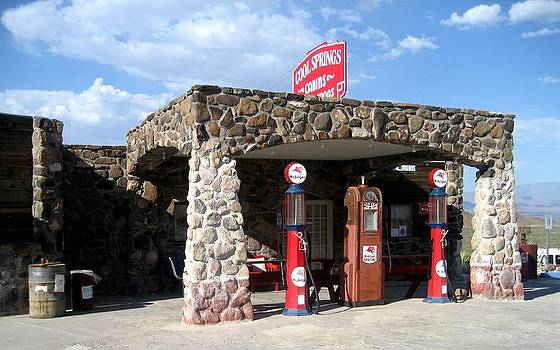 Gas Station on Route 66 by Dany Lison
