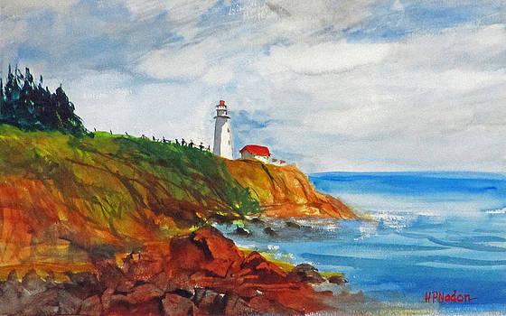 Gaspe Lighthouse by Heidi Patricio-Nadon