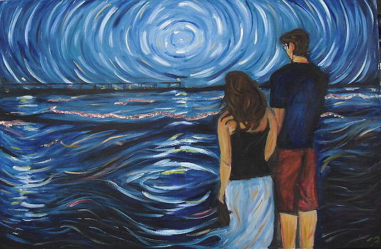 Gazing at the Pier by Hannah Curran