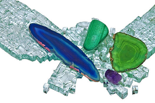 Gemstones and Broken Glass by Susan Leggett