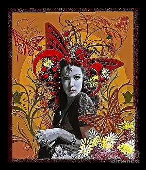 Gene Tierney Design by Debbie Engel
