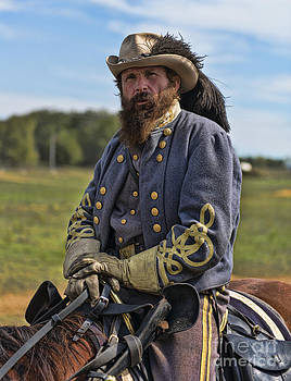 General JEB Stuart by Alan Crosthwaite