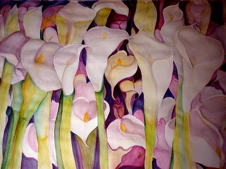 Gentle Callas For Kathy by Margaret Pirrouette