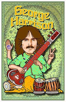 George Harrison by John Goldacker