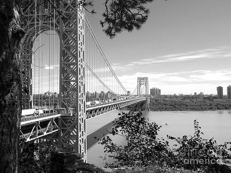 George Washington Bridge by Valerie Morrison