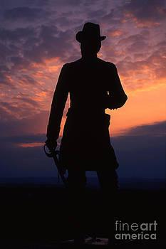 Gettysburg sentinal by Barry Shaffer