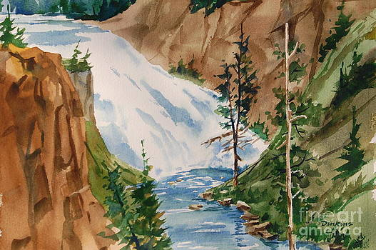 Gibbons Falls by Bill Dinkins