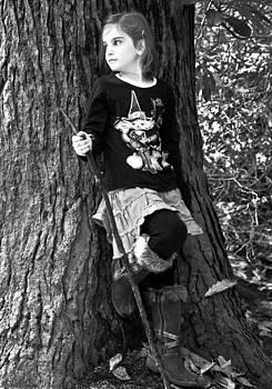Girl in the Forest by Susan Leggett