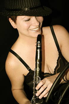 Girl with the clarinet by Amy Savell