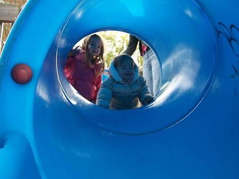 Girls at the park by Lisa Stunda