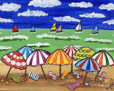 Girls Weekend at the Beach by Susan Cliett