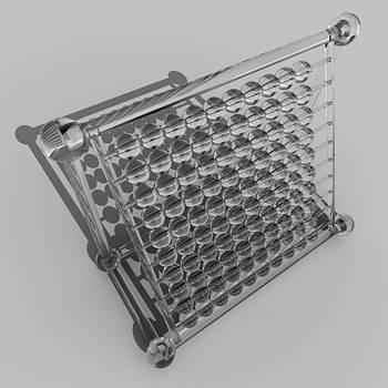 Rolf Bertram - Glass Abacus R 039 A