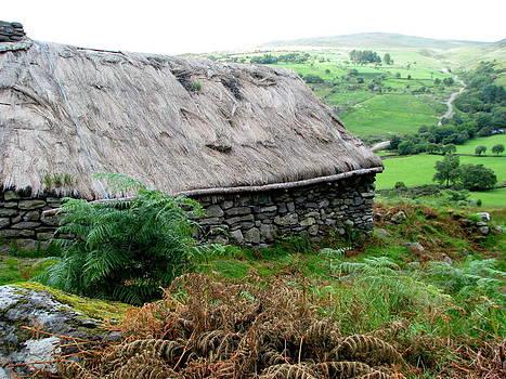 Gleninchaquin Famine House I by Sheila Rodgers