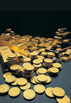 Gold Coins by Richard McGee
