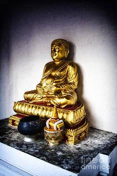 Golden Buddha by Thanh Tran
