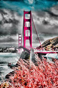 Golden Gate Bridge - 5 by Mark Madere