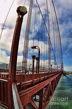 Golden Gate Bridge - 7 by Mark Madere