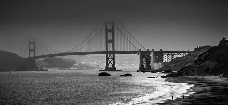 Golden Gate Bridge  by Jim Ross