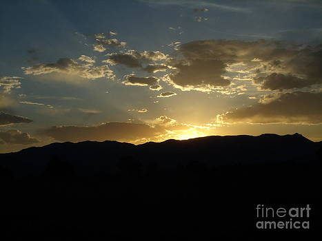 Golden Rocky Mountain Sunset by Donna Parlow