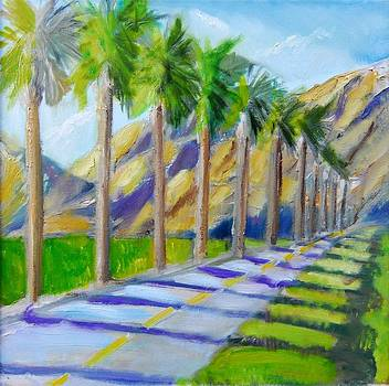 Golf Trails at Palm Springs by Terrence  Howell