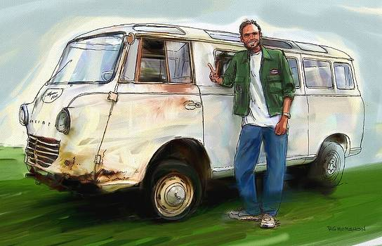 RG McMahon - Goliath Van