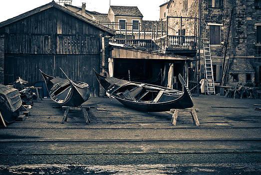 Gondola Still Life by Preston Coe