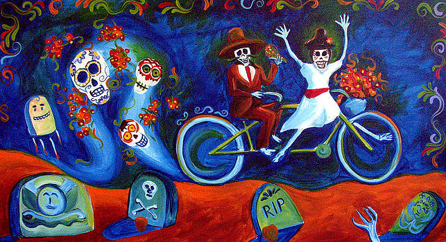 Gone With the Wind Day of the Dead by Janet Oh