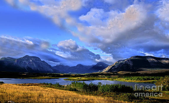 Good Morning Waterton  by Judy Grant