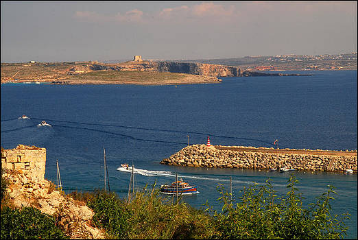 Gozo Channel by Gunnar Boehme