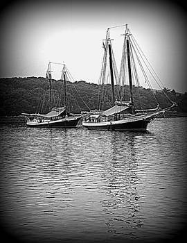Grace Bailey and Mercantile at Anchor by Doug Mills