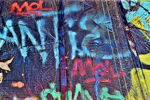 Graffiti Grid by Ferry Ten Brink