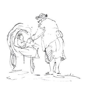 Miki De Goodaboom - Grandmother With baby