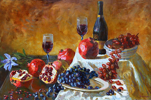 Ylli Haruni - Grapes and Pomgranates