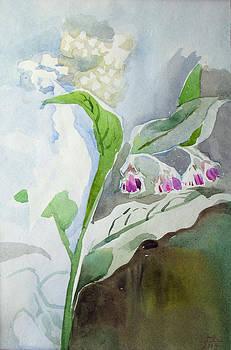Grass - Flowers. Etude by Yuri Yudaev