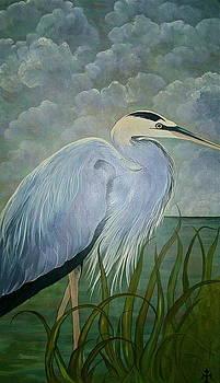 Great Blue Heron by Teresa Grace Mock
