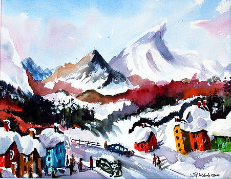 Great Snow Day by Wilfred McOstrich