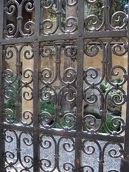 Grecian Gate by Sandy Collier