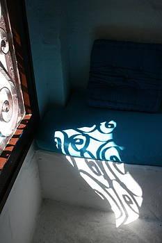 Yvonne Ayoub - Greece Window Reflections