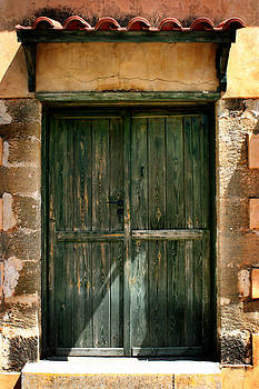 Greek Door by Shane Rees